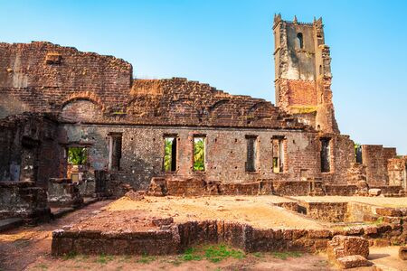 Church of St. Augustine is a ruined church complex located in Old Goa in India