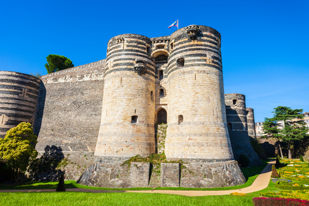 Chateau Angers is a castle in Angers city in Loire Valley, western in France