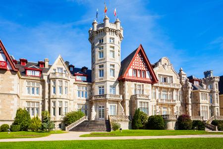 Magdalena Palace or Palacio de la Magdalena is a palace located on the Magdalena Peninsula in Santander city, Spain.