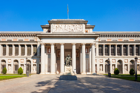 The Prado Museum or Museo del Prado is the main Spanish national art museum in the centre of Madrid. Madrid is the capital of Spain.