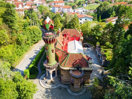 El Capricho is a building, designed by Antoni Gaudi, located in in Comillas in Cantabria region of Spain