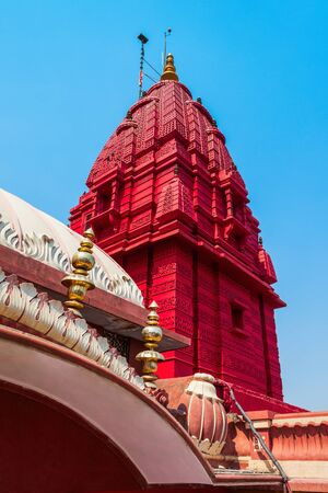Shri Digambar Jain Lal Mandir is the oldest Jain temple in New Delhi city in India