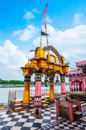 Shri Dwarkadheesh or Dwarkadhish Ji Maharaj Temple is a hindu temple near Vishram Ghat of Yamuna river in Mathura city in India