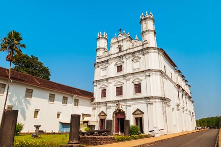 The Church of St. Francis of Assisi is a roman catholic church located in Old Goa in India
