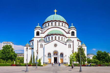 The Church of Saint Sava Cathedral or Hram Svetog Save is a Serbian Orthodox church in Belgrade city in Serbia