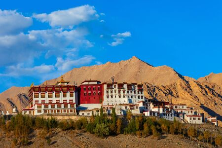 Phyang Monastery or Gompa is a tibetan style buddhist monastery in Fiang village near Leh in Ladakh, north India