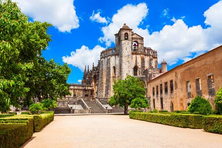 The Convent of the Order of Christ in Tomar town, Portugal
