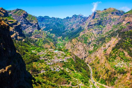 Curral das Freiras or Valley of the Nuns village in Madeira Island, Portugal