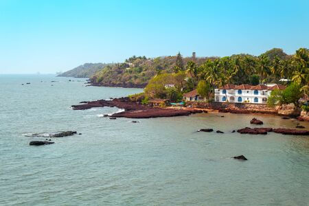 Dona Paula cape is a viewpoint in Panjim city in Goa state of India