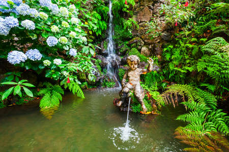Monte Palace Tropical Garden in Madeira island in Portugal