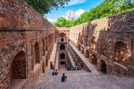 Agrasen ki Baoli or Ugrasen ki Baodi is a historical step well near Connaught Place in New Delhi, India