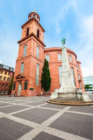 St Paul Church or Paulskirche is a Protestant church in Paulsplatz, Frankfurt am Main in Germany