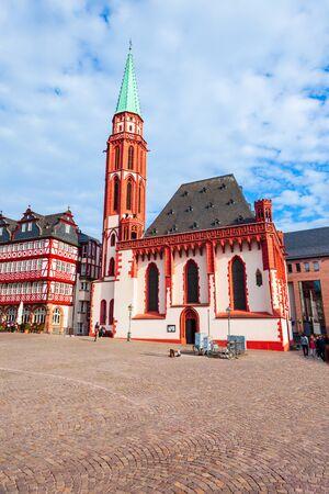 Old St Nicholas Church is a medieval Lutheran church in Frankfurt, Germany