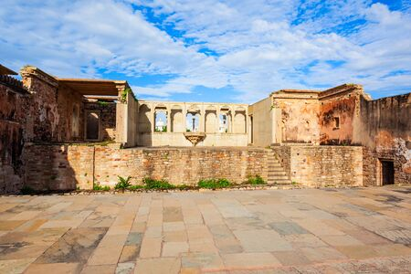 Kumbha Palace in Chittor Fort in Chittorgarh city, Rajasthan state of India