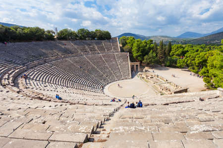 The Epidaurus Ancient Theatre is a theatre in the Greek old city of Epidaurus dedicated to the ancient Greek God of medicine, Asclepius. Éditoriale