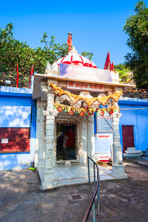 Arbuda Devi Temple or Adhar Devi Temple in Mount Abu, a hill station in Rajasthan state, India