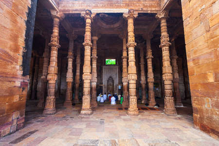 Adhai Din Ka Jhonpra is one of the oldest mosques in India, located in Ajmer city in Rajasthan Фото со стока