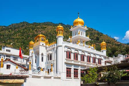 Gurudawara Shree Gurugaranth Sahib Ji Kullu in Kullu town, Himachal Pradesh state in India