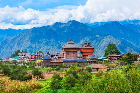 Bhimakali Temple or Shri Bhima Kali Temple is a hindu temple at Sarahan in Himachal Pradesh in India Фото со стока
