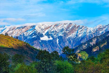Rohtang Pass is a high mountain pass on the Pir Panjal Range of Himalayas near Manali, Himachal Pradesh, India
