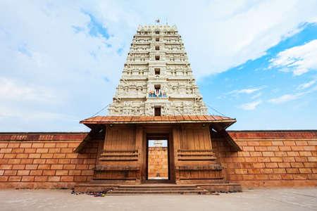 Shree Rangnath Ji Temple is a hindu temple located in Vrindavan near Mathura city in Uttar Pradesh state of India Фото со стока