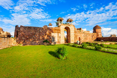Rana Ratan Palace in Chittor Fort in Chittorgarh city, Rajasthan state of India Фото со стока