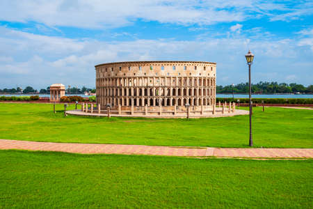 Rome Colosseum in Seven Wonders Park in Kota city in Rajasthan state of India