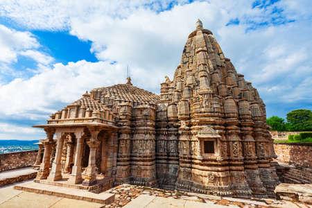 Samadhisvar or Samadhisvara Temple in Chittor Fort in Chittorgarh city, Rajasthan state of India Фото со стока