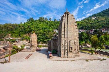 Panchbakhtar Temple is a hindu in Mandi town, Himachal Pradesh state in India
