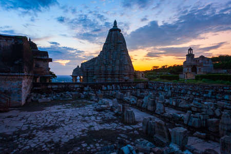Samadhisvar Temple in Chittor Fort in Chittorgarh city, Rajasthan state of India