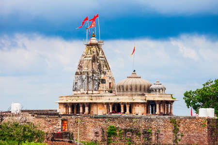 Kalika Mata Temple in Chittor Fort in Chittorgarh city, Rajasthan state of India