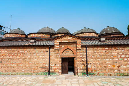 National Gallery of Macedonia or Daut Pasha Hamam in the centre of Skopje city, North Macedonia