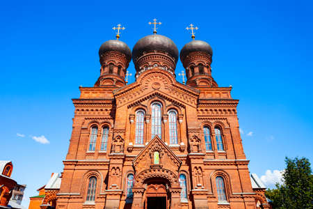 Svyato Vvedensky female monastery of the Russian Orthodox Church in the center of Ivanovo city, Golden Ring of Russia 版權商用圖片