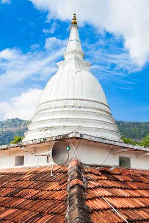 Stupa at the Rambadagalla Viharaya Temple near Kurunegala in Sri Lanka