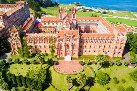 University Center or Comillas Pontifical University or Universidad Pontificia is a private university in Comillas, Spain