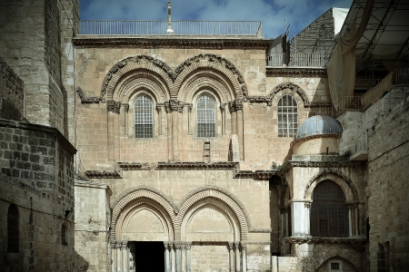 variety of architectural types in Jerusalem photo