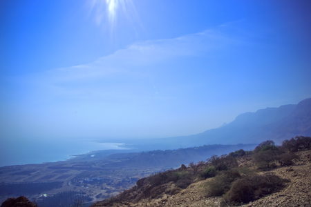 Photo of Dead Sea from Mount Ein Gedi photo