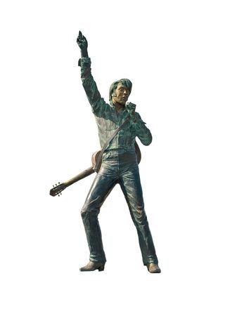 Geïsoleerde Elvis Presley