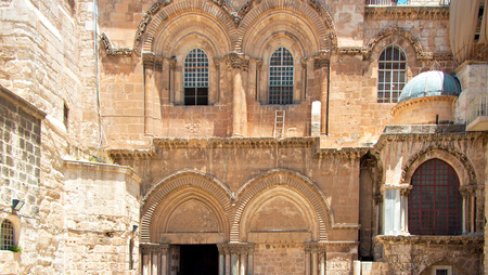 variety of architecture of Jerusalem, temple of the Holy Sepulchre photo