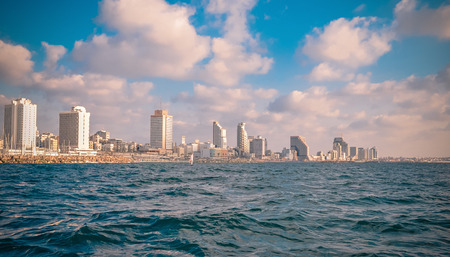 Photo of Tel Aviv made on a yacht