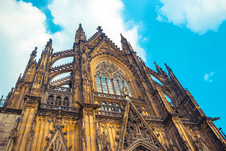 Cologne Cathedral. Stock Photo