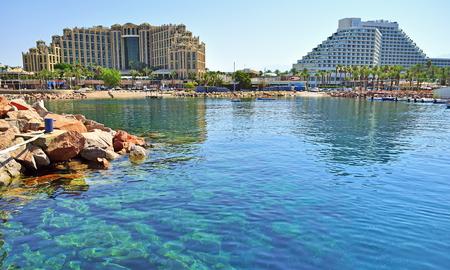 Eilat - una località turistica sul Mar Rosso Archivio Fotografico - 51798802