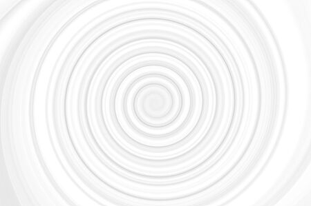A very simple black and white illustration of a spiral