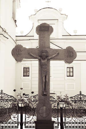 Religious Theme Photo - Jesus on the Cross.