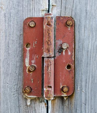 Door old rusty loop Imagens
