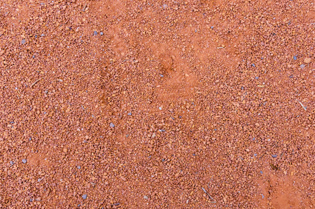 Texture of orange crushed brick dust