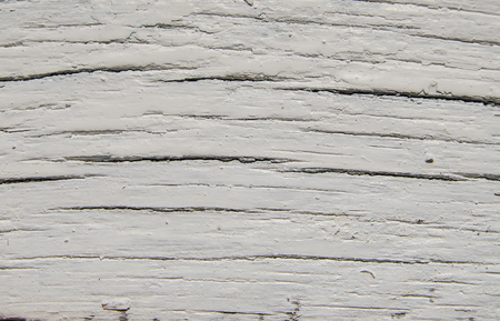 texture of rustic white painted wood