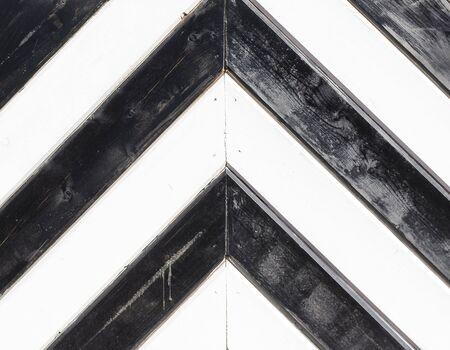 Black and white chevron design texture