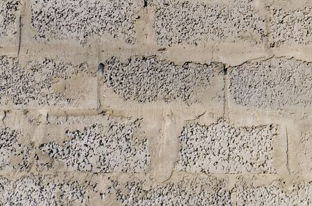 Cinder blocks gray texture