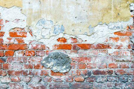 The vintage brick wall texture Reklamní fotografie